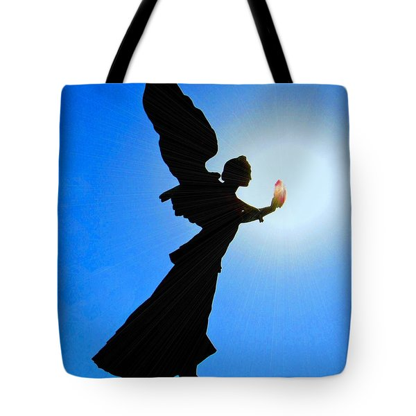 Tote Bag featuring the photograph Angelic by Patrick Witz