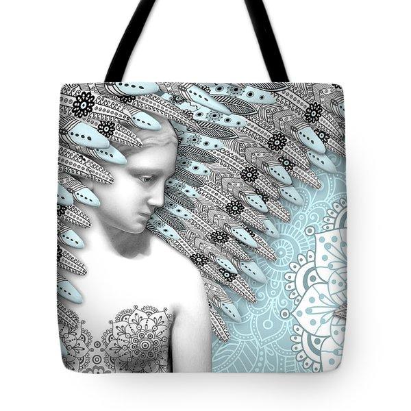 Angelica Hiberna - Angel Of Winter Tote Bag