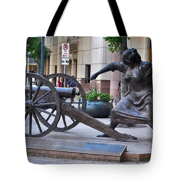 Angelina Eberly Of Austin Tote Bag