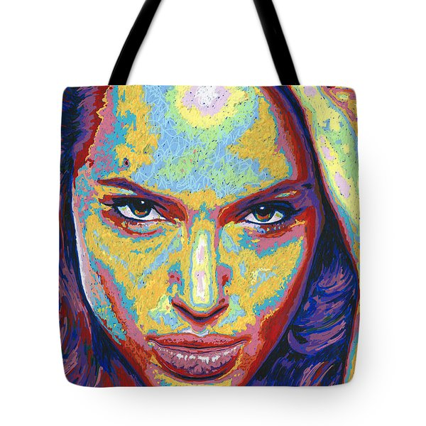 Angelina Tote Bag by Maria Arango