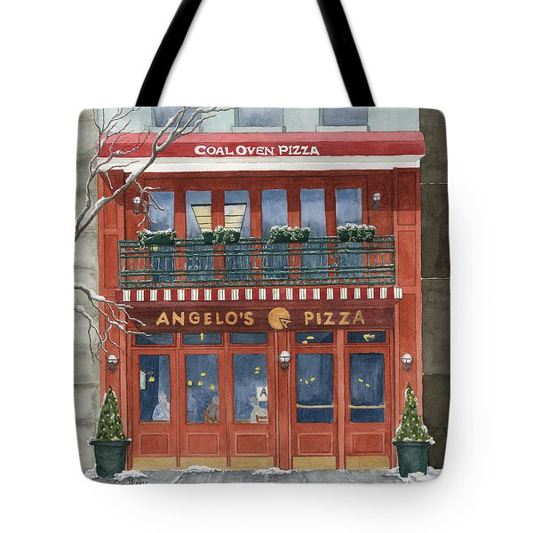 Angelo's On 57th Street Tote Bag by Rhonda Leonard
