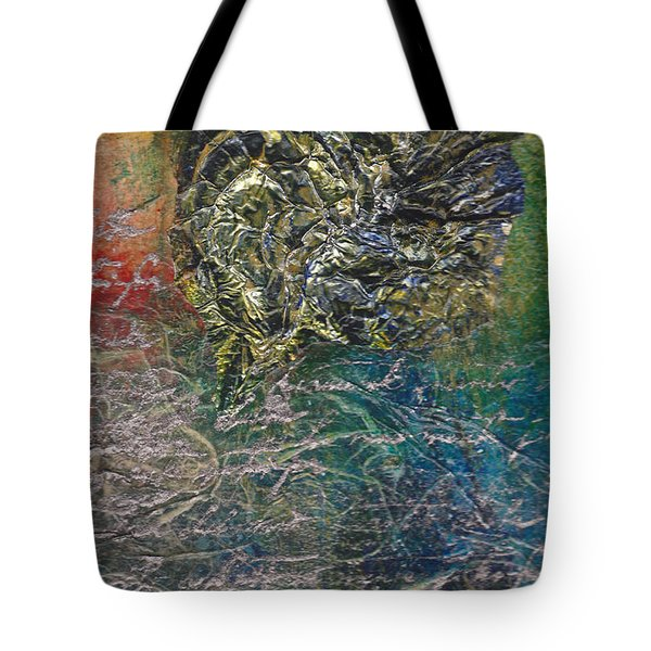 Angels And Mermaids Tote Bag by Cindy Johnston
