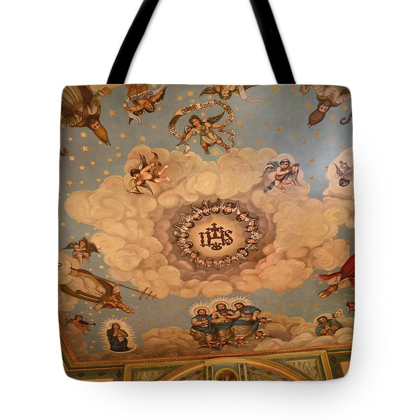 Angels And Saints Tote Bag by Art Block Collections