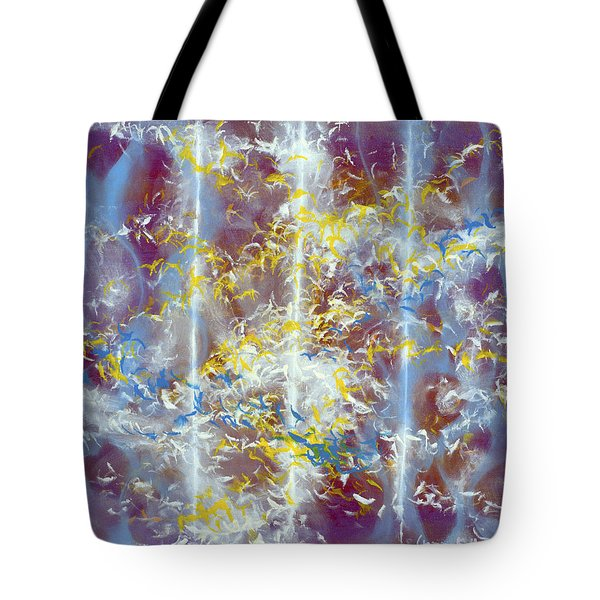 Angels At The Throne Of God Tote Bag