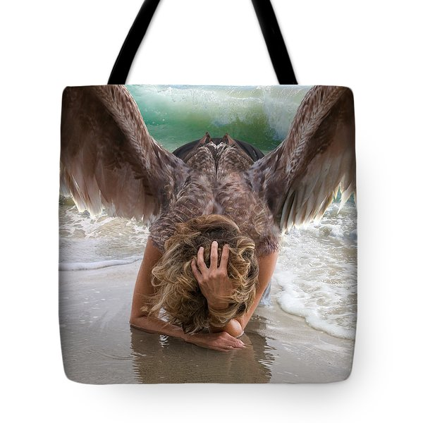 Angels- Be A Light To Those In Darkness Tote Bag