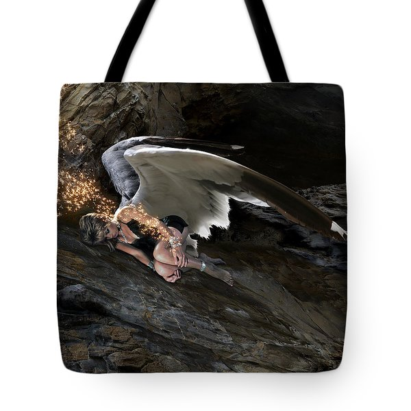 Angels- Call On The Name Of Jesus And Stand Still Tote Bag