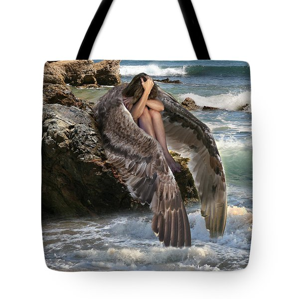 Angels- God Has Sent His Spirit To Comfort You And Heal You Tote Bag
