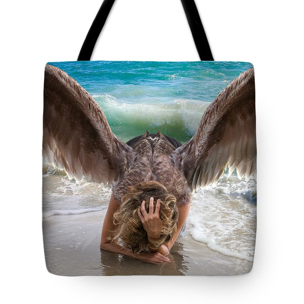 Angels- I Will Not Give Up On You Tote Bag