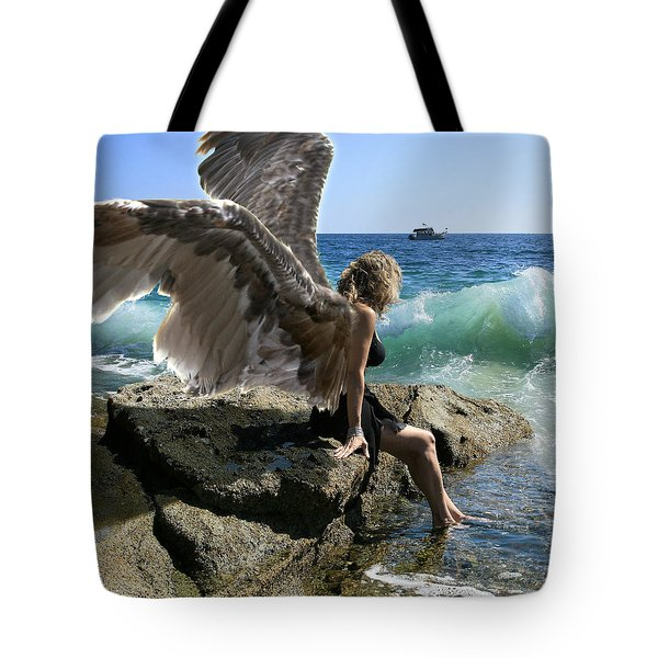 Angels- I'm Watching Over You Tote Bag
