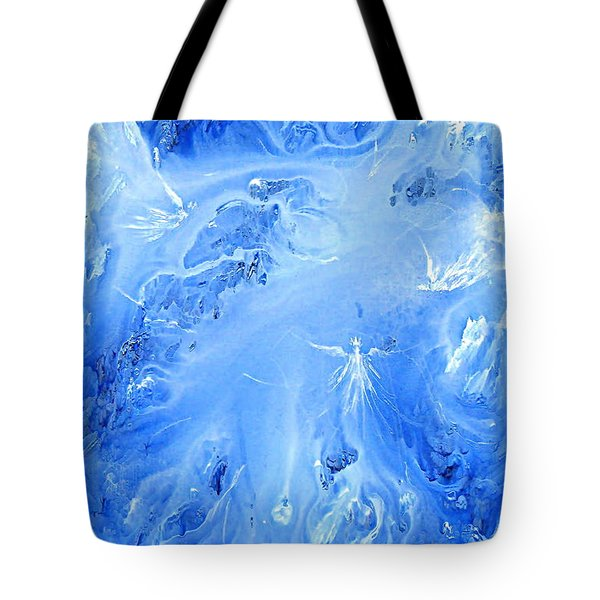 Angels In The Sky Iv Tote Bag