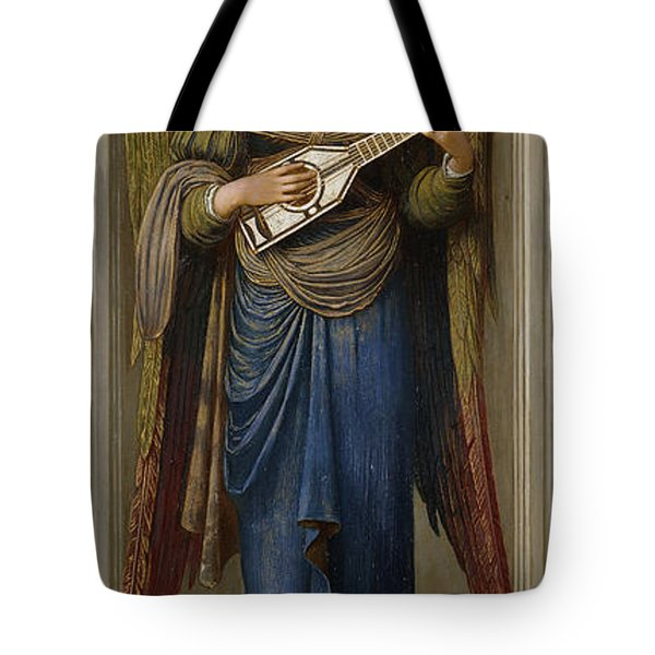 Angels Tote Bag by John Melhuish Strudwick