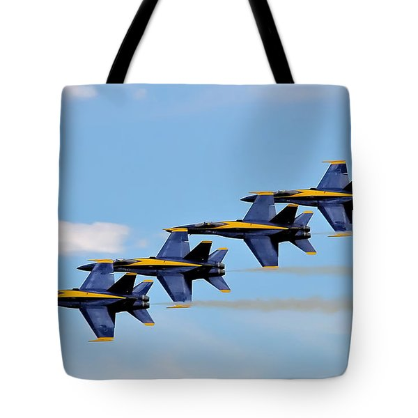 Angels Of The Sky Tote Bag