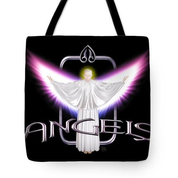 Angels Tote Bag by Scott Ross
