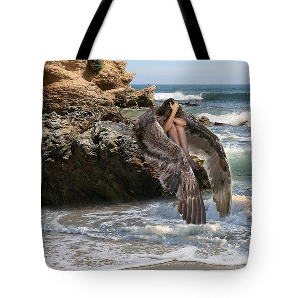 Angels- Shhh Stand Still And Be Quiet Tote Bag