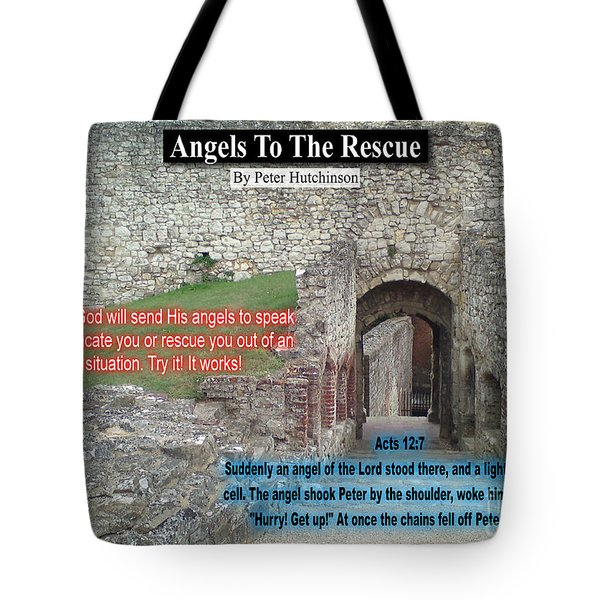 Angels To The Rescue Tote Bag