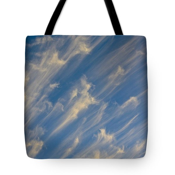 Angels Trumpets Tote Bag