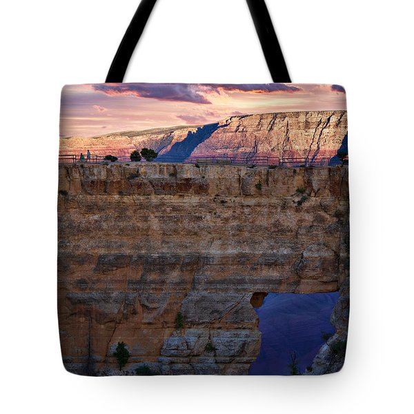 Tote Bag featuring the photograph Angels Window by Lana Trussell