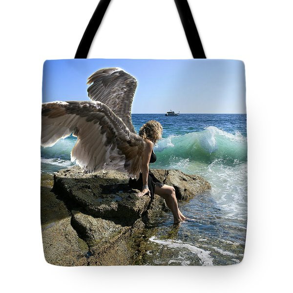 Angels- Yes I'm With You Tote Bag