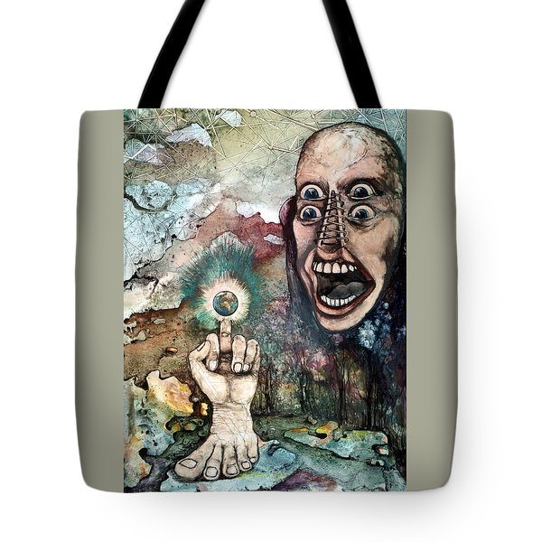 Anger Of Archon Tote Bag