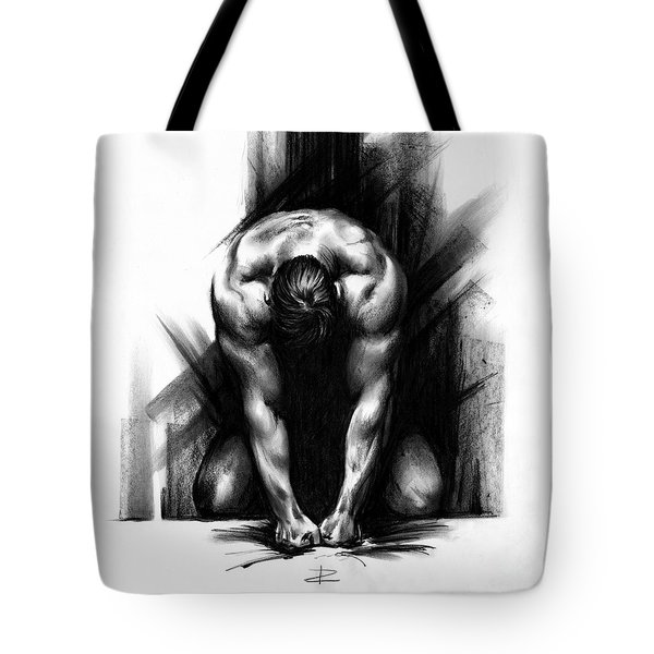Anger Tote Bag by Paul Davenport