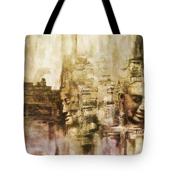 Angkor Tote Bag by Catf