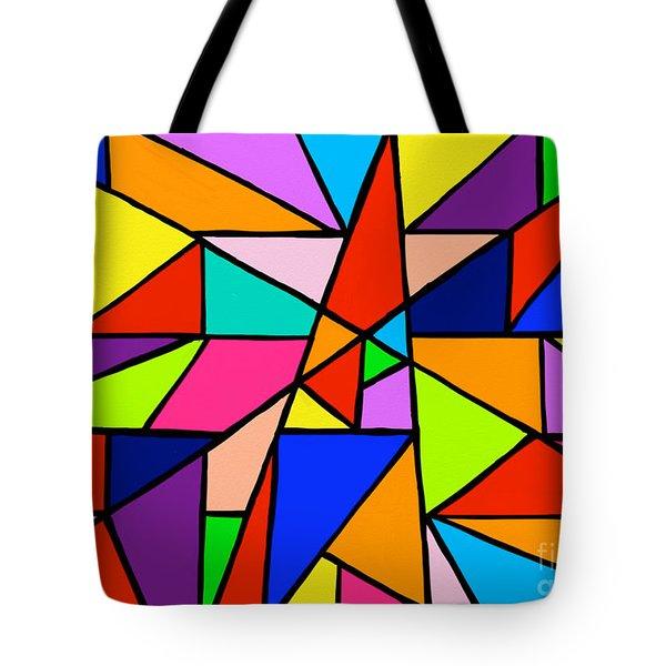 Angle Fun Tote Bag by Anita Lewis
