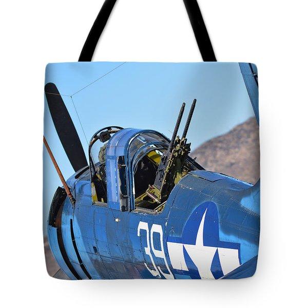 Angle On The Dauntless Tote Bag