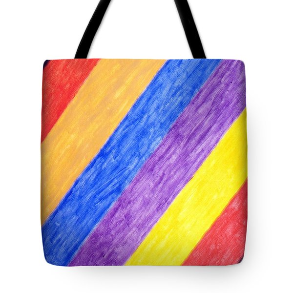 Tote Bag featuring the painting Angles by Stormm Bradshaw