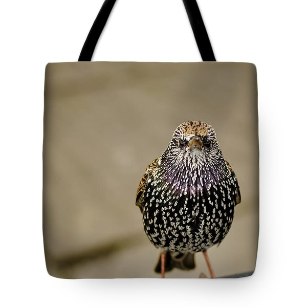 Angry Bird Tote Bag by Heather Applegate