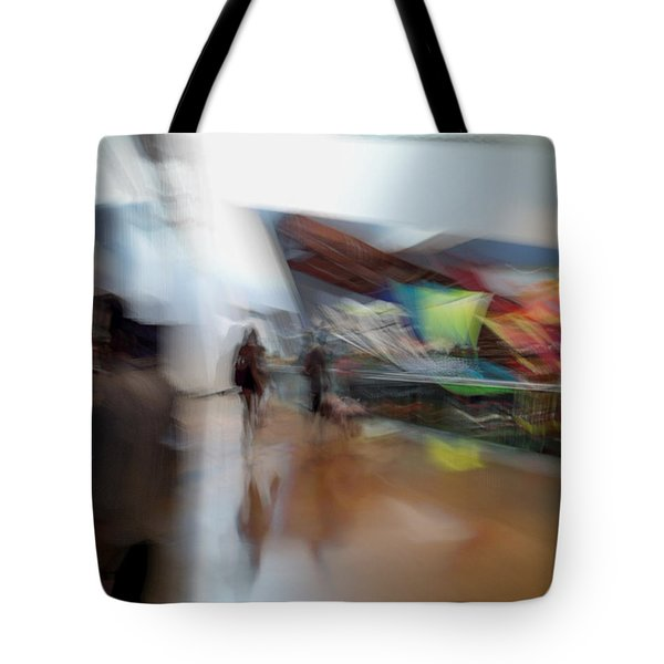 Tote Bag featuring the photograph Angularity by Alex Lapidus