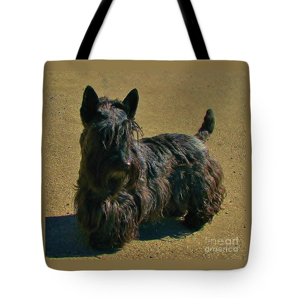Tote Bag featuring the photograph Angus by Michele Penner