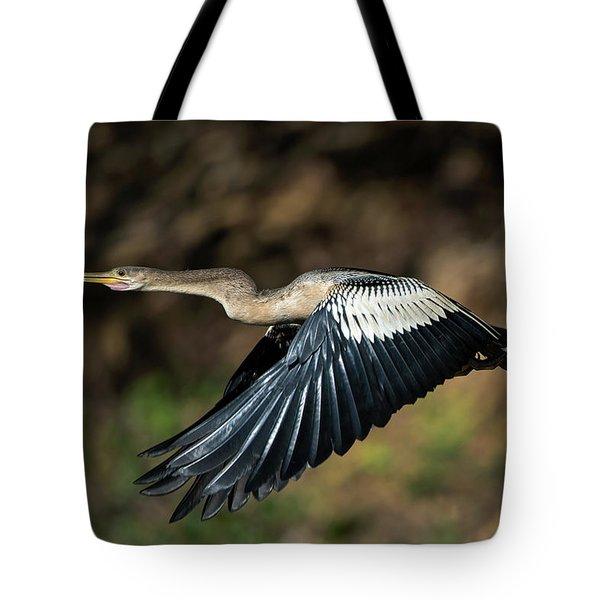 Anhinga Anhinga Anhinga Flying Tote Bag