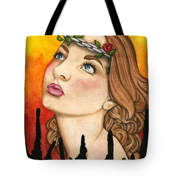 Anima Sola Tote Bag by Nora Blansett