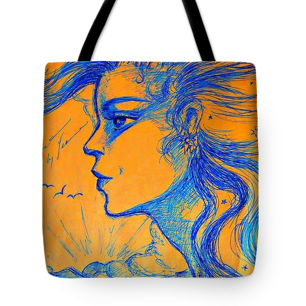 Anima Sunset Tote Bag
