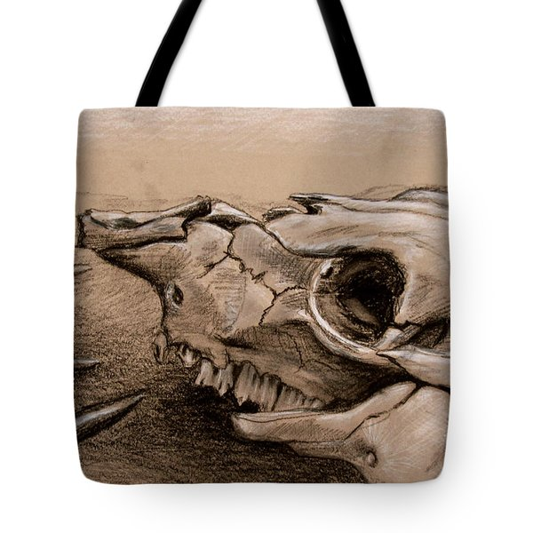 Animal Bones Tote Bag