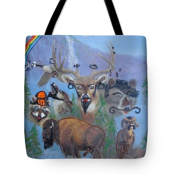 Animal Equality Tote Bag by Lisa Piper