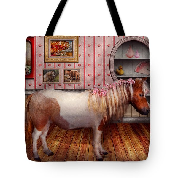 Animal - The Pony Tote Bag by Mike Savad