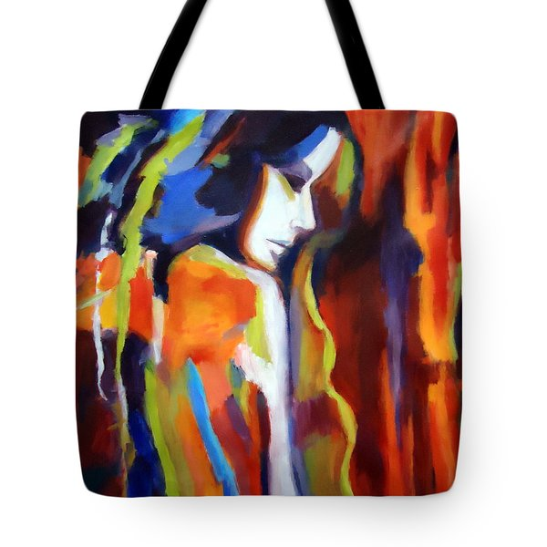 Tote Bag featuring the painting Animus by Helena Wierzbicki
