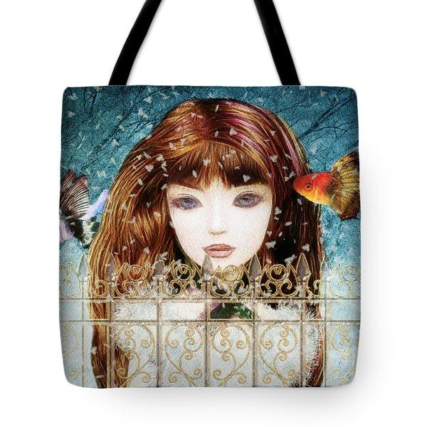 Aniolina Felicslawa Tote Bag by Barbara Orenya