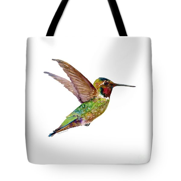 Anna Hummingbird Tote Bag
