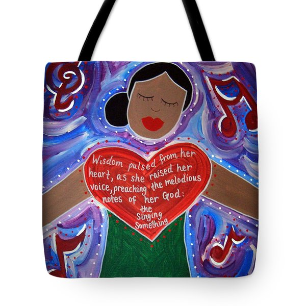 Anna Julia Cooper Tote Bag by Angela Yarber
