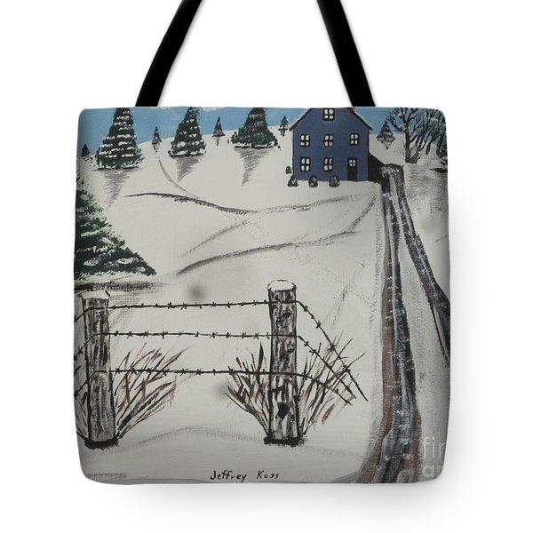 Anna Koss Farm Tote Bag by Jeffrey Koss