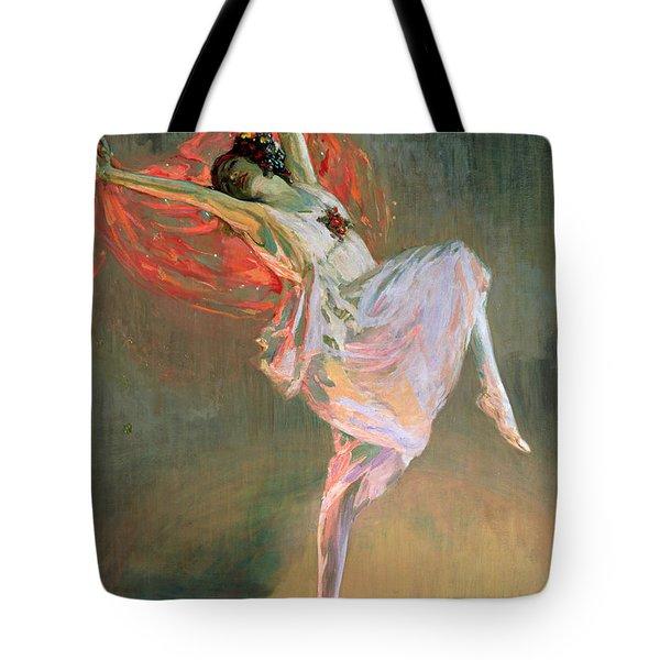 Anna Pavlova, 1910 Tote Bag
