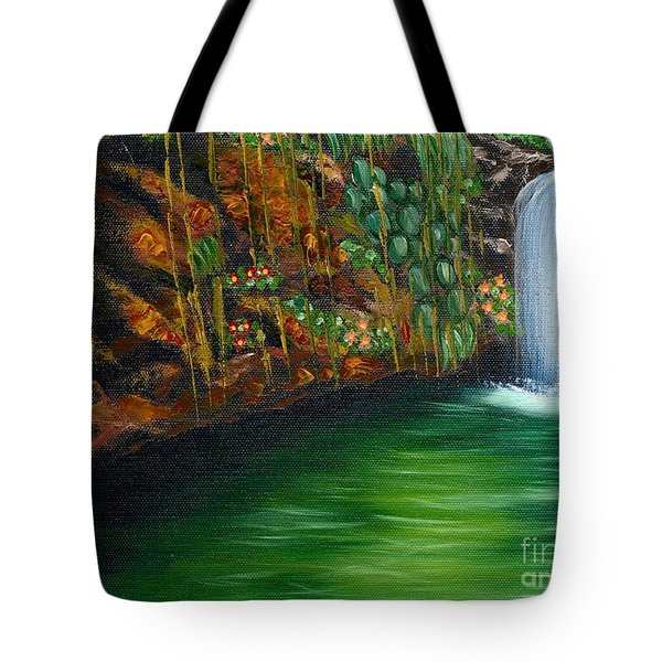 Annadale Waterfall Tote Bag