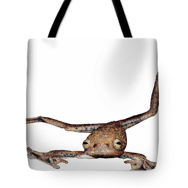 Annam Flying Frog Tote Bag by Roger Hall