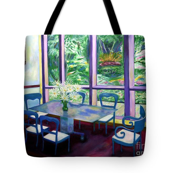 Annapolis Time Tote Bag by Karen Francis