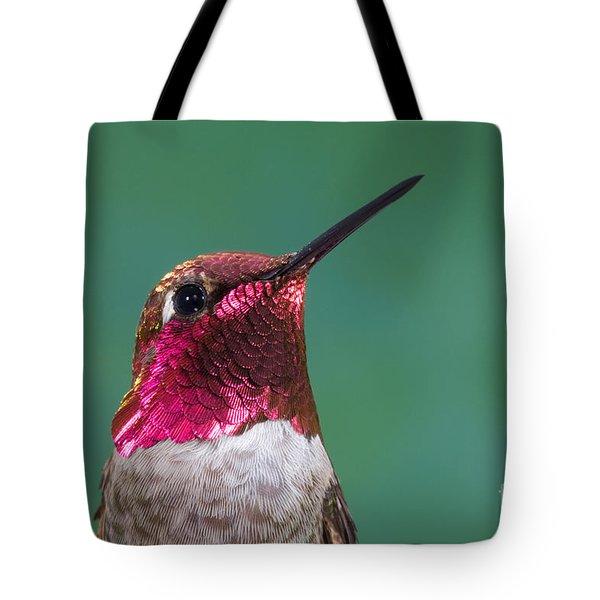 Annas Hummingbird Tote Bag by Anthony Mercieca