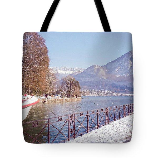 Annecy Fairytale. France Tote Bag by Jenny Rainbow