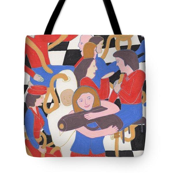 Annie Get Your Gun Tote Bag by Barbara St Jean