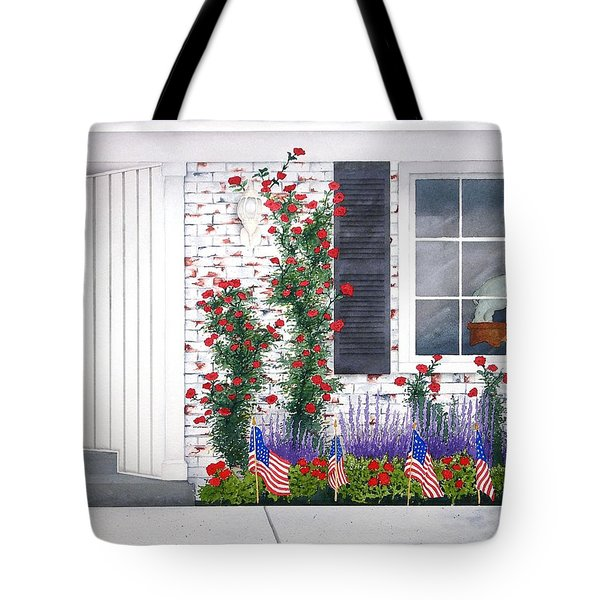 Anniversary Tote Bag by Richard Rooker